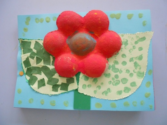 Flor feta per Lurdes Sais per al seu bloc, Elefantades. Imatge: Lurdes Sais