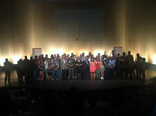 Els premiats dels Premis Blogs Catalunya 2013. Foto: Stic.cat
