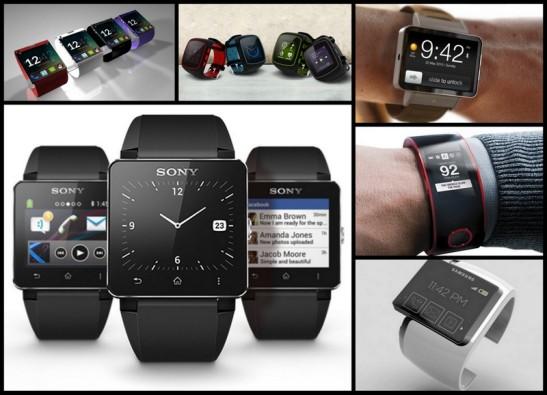 """Diferents marques i models de """"smartwatch"""", el rellotge intel·ligent"""