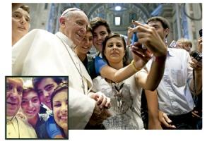 selfie_Papa_Francesc