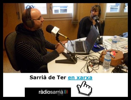 SdT_enXarxa_RogerCasero_NeusMercader_5abr13_Radio_Sarria_logo